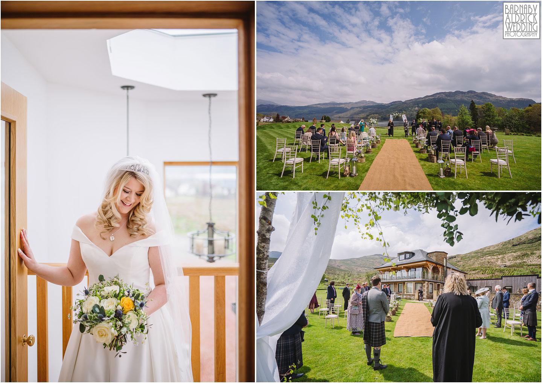 Outdoor lochside wedding at Carrick Castle Estate Lodge Wedding, Loch Goil Wedding photos, Argyll Forest Park Wedding Scotland, Scottish Wedding, Scottish Lockdown Wedding, Scottish Wedding