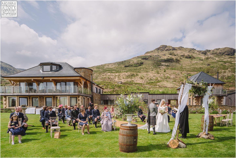 Outside wedding at Carrick Castle Estate Lodge Wedding, Loch Goil Wedding photos, Argyll Forest Park Wedding Scotland, Scottish Wedding, Scottish Lockdown Wedding, Scottish Wedding