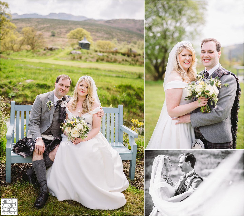 Wedding portraits at Carrick Castle Estate, Loch Goil Wedding photos, Argyll Forest Park Wedding Scotland, Scottish Wedding, Scottish Lockdown Wedding, Scottish Wedding