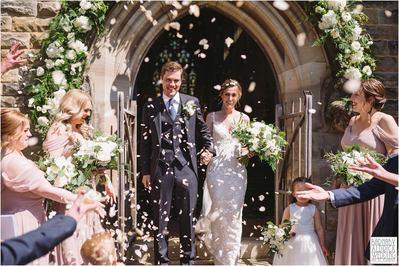 Rudding Park Chapel, Rudding Park Wedding Photography, Yorkshire Photographer Barnaby Aldrick, Rudding Park Harrogate Wedding Photos, Spring Yorkshire Wedding Photos