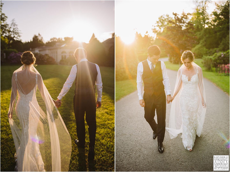 Rudding Park Sunset Wedding, Yorkshire Photographer Barnaby Aldrick, Rudding Park Harrogate Wedding Photos, Spring Yorkshire Wedding Photos