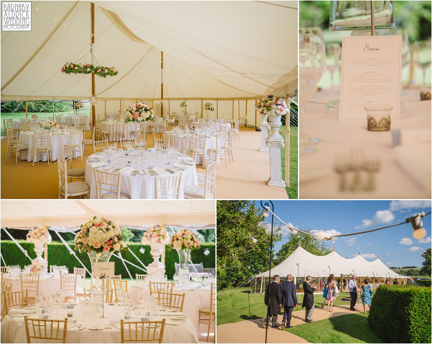 Will Marquees Pole Marquee, Birdsall House