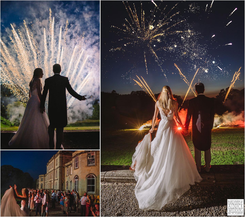 Birdsall House Fireworks, Wedding Firework at Birdsall House