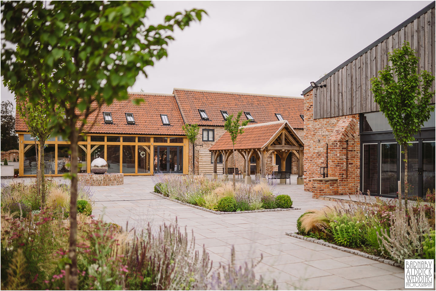 Yorkshire Barn Wedding venue The Oakwood at Ryther near Tadcaster in Yorkshire