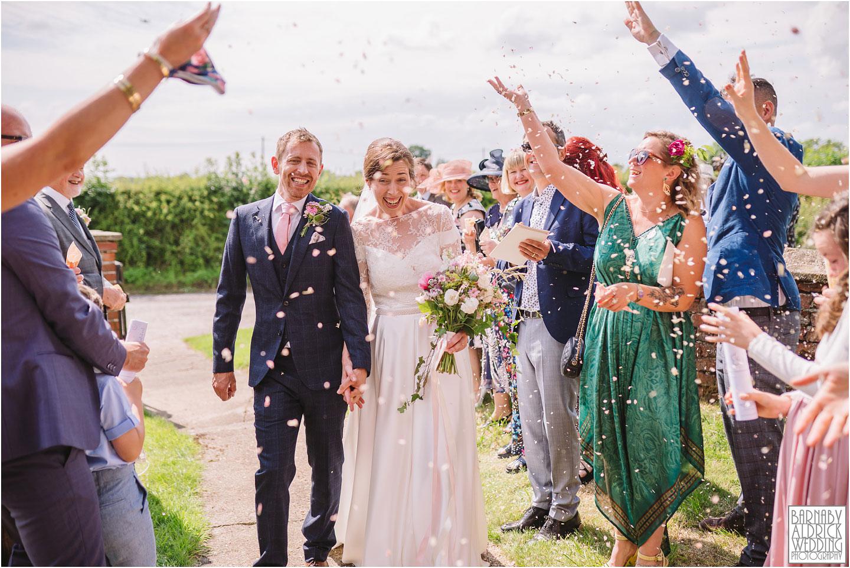 Wedding Confetti at the Pheasant in Harome, Pandemic wedding, 2020 lockdown wedding, Coronavirus wedding Yorkshire, Awesome Covid 19 wedding, Harome Wedding Photography, The Pheasant Hotel Wedding, Wedding Photography at The Pheasant Hotel North Yorkshire, North Yorkshire Wedding Photographer