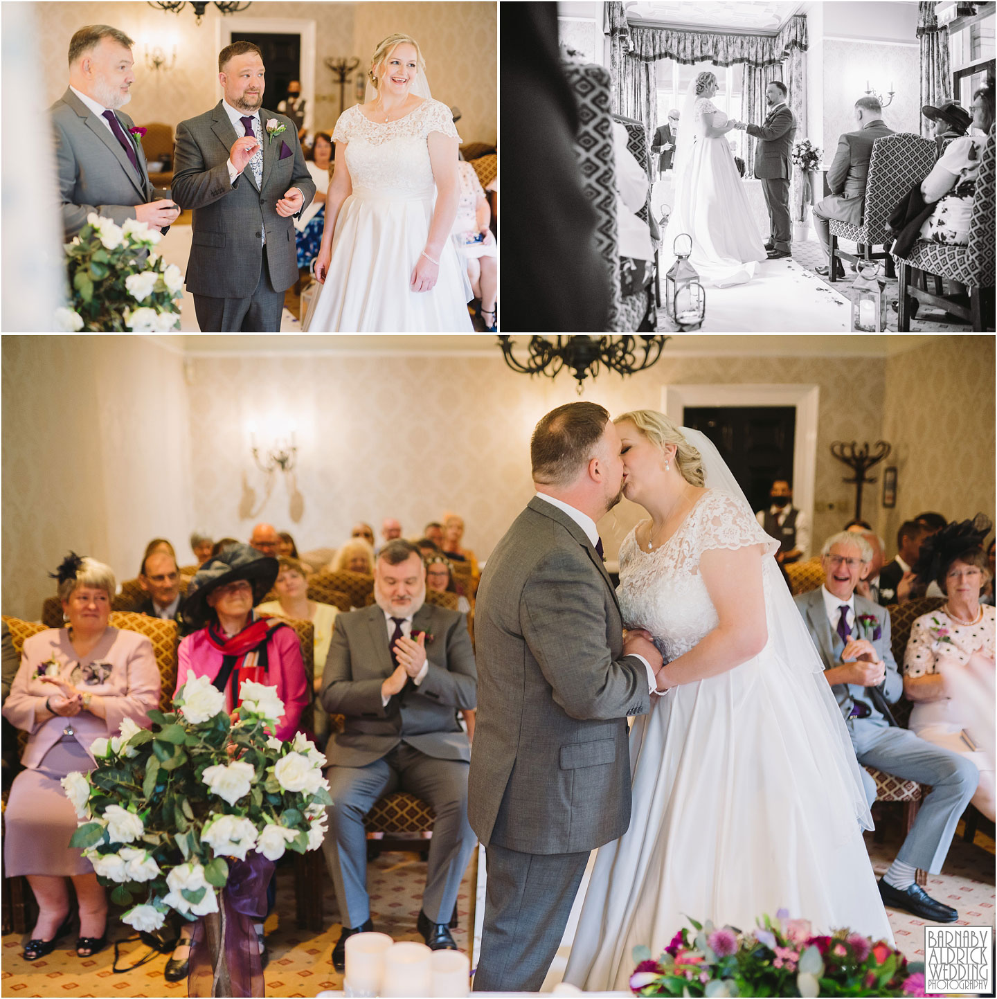 Civil Wedding Ceremony at Weetwood Hall Wedding Yorkshire, Weetwood Hall Leeds, Leeds Wedding Photographer, Yorkshire Wedding Photographer