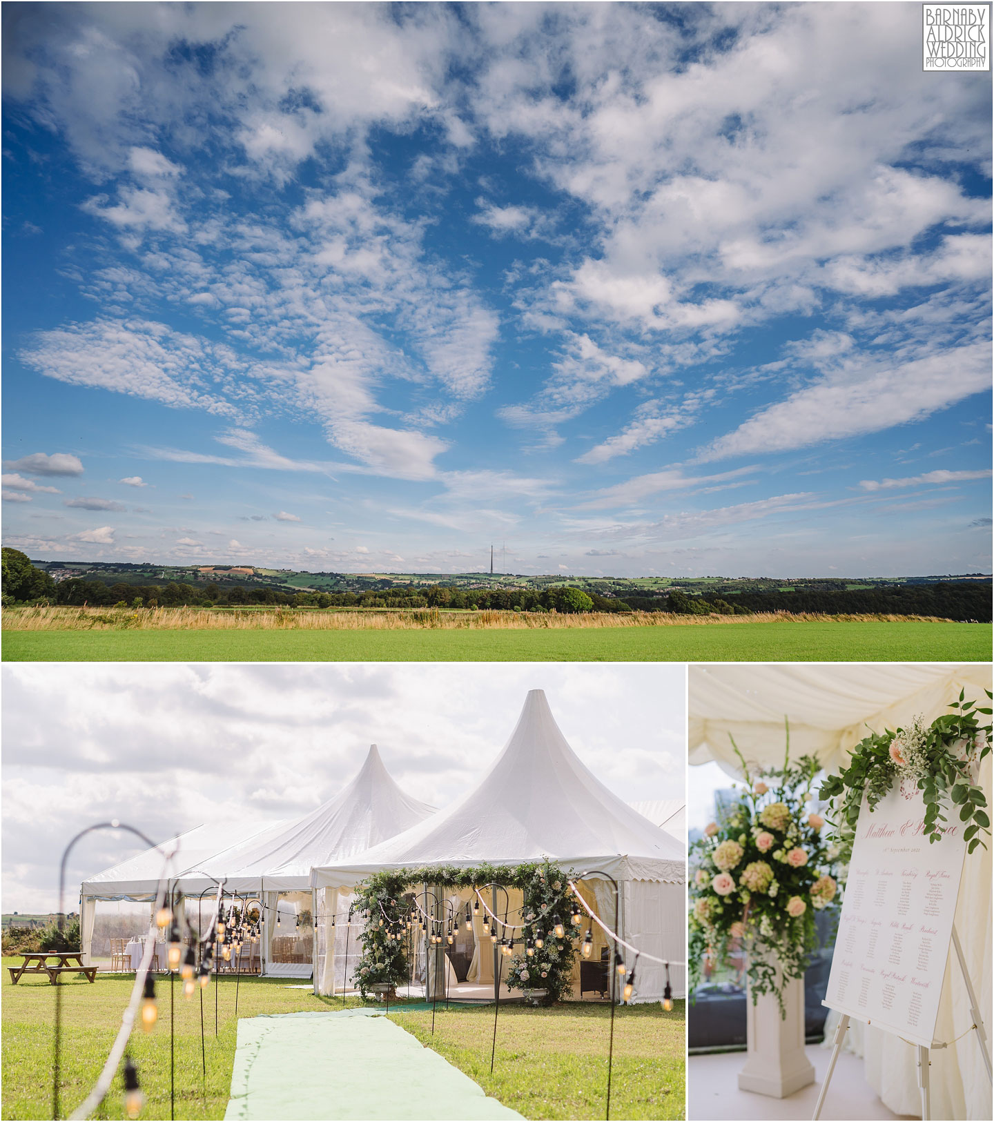 Yorkshire field Marquee Wedding, Field Marquee Wedding Photos, Yorkshire Marquee hire, Marquee wedding Photography, James Dabbs & Co Marquee Hire