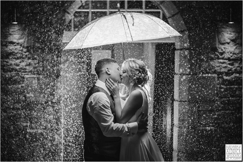 Yorebridge House Wedding Photography, Yorkshire Dales Wedding Photos, Yorkshire Dales Wedding Venues, Yorkshire Boutique wedding hotels, Wensleydale Wedding Venues, Yorebridge House Wedding, Rain Wedding photo at Yorebridge House