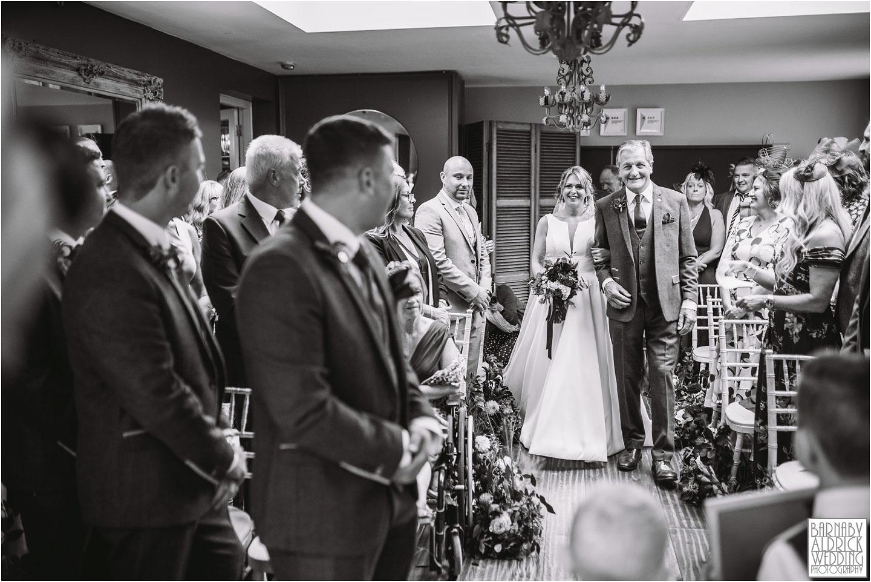 Yorebridge House wedding civil ceremony, Wensleydale wedding venue, Yorkshire Dales boutique Hotel wedding