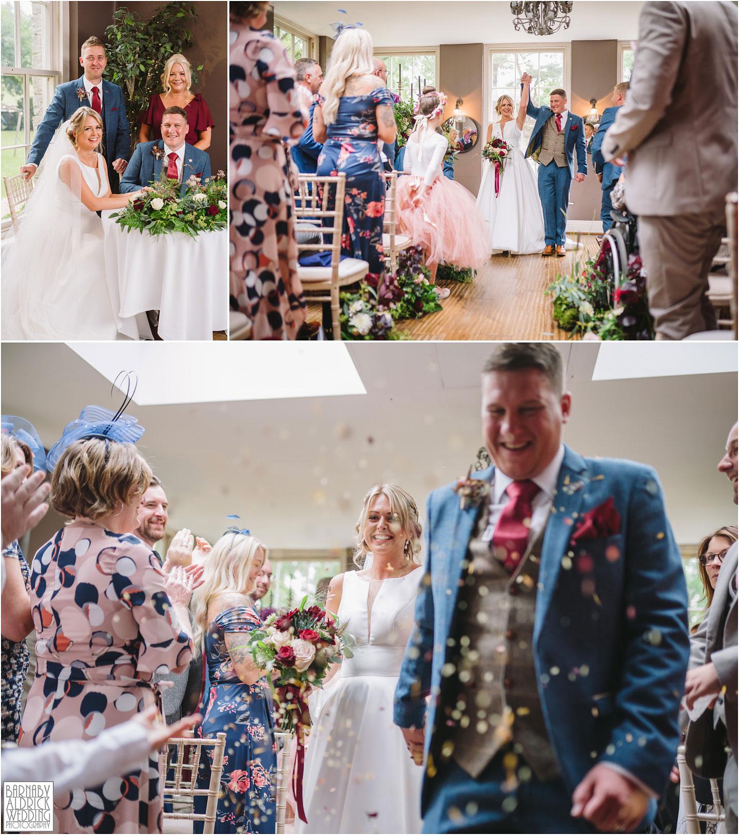 Civil ceremony in Yorebridge house, Bainbridge wedding venue, Civil ceremony venues Yorkshire dales, Boutique hotel wedding venue Yorkshire