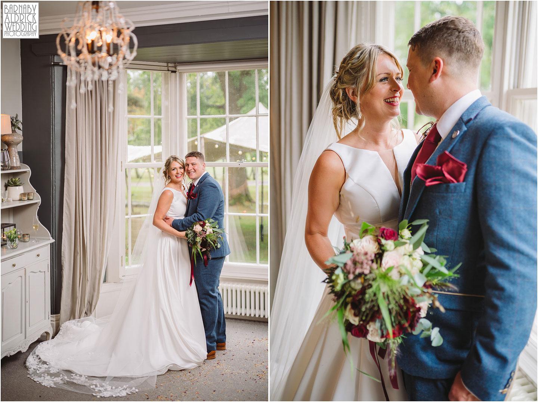Couple portraits at Yorebridge House, Yorkshire Dales wedding venue, Wensleydale yorkshire boutique hotel,